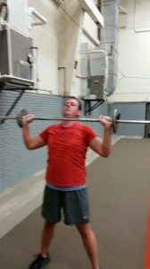 Jeffrey shoulder press